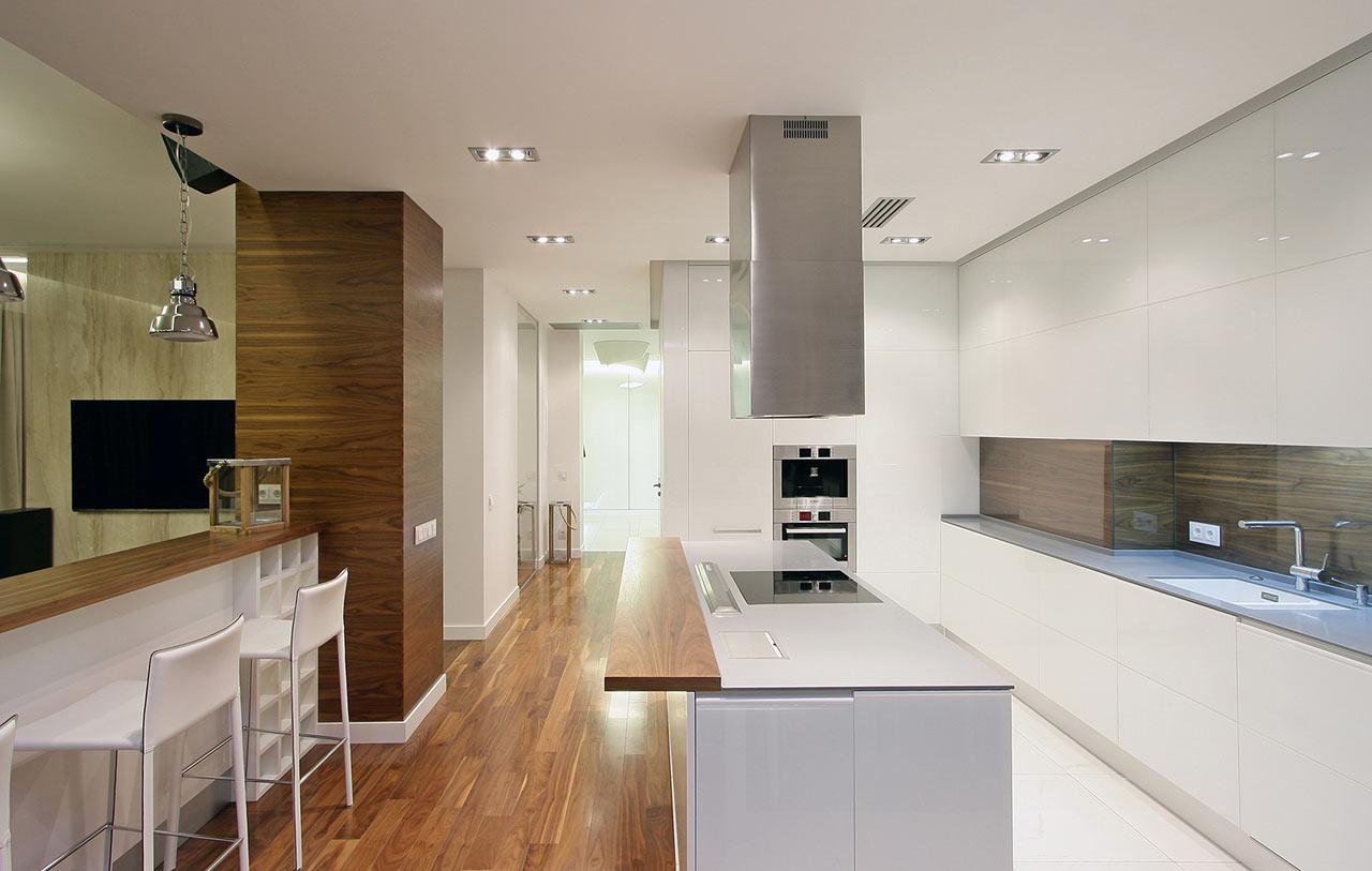 Decoraci n de un piso moderno en el centro hist rico lf24 for Decoracion piso moderno