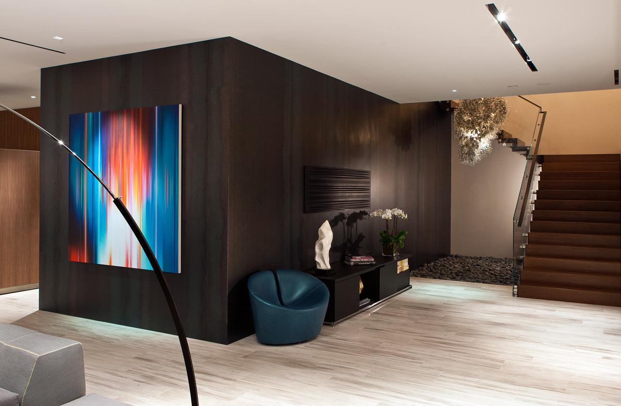 Dise o de casa moderna en el desierto de las vegas lf24 for Pintura casa moderna