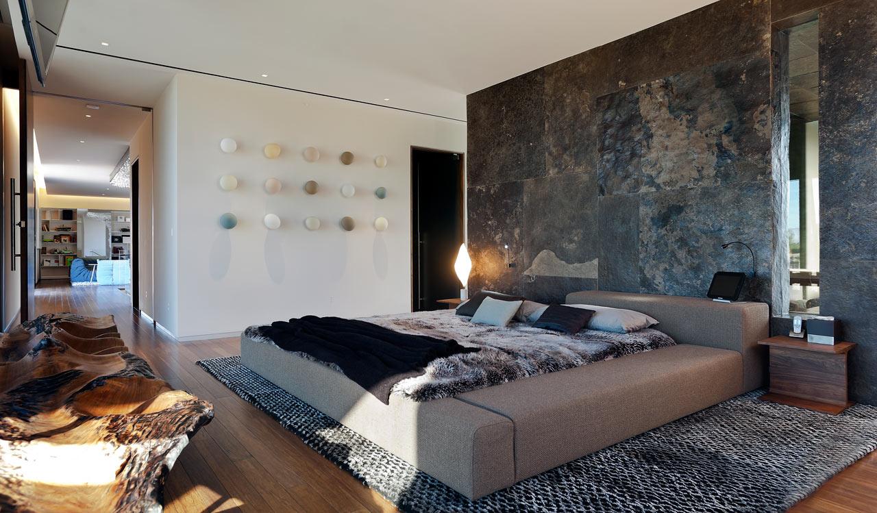 Dise o de casa moderna en el desierto de las vegas lf24 for Casa moderna design