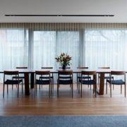Interiorismo de un comedor contemporáneo