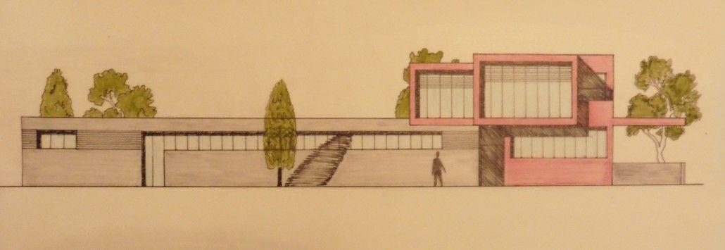 Dibujos de arquitectura alzados