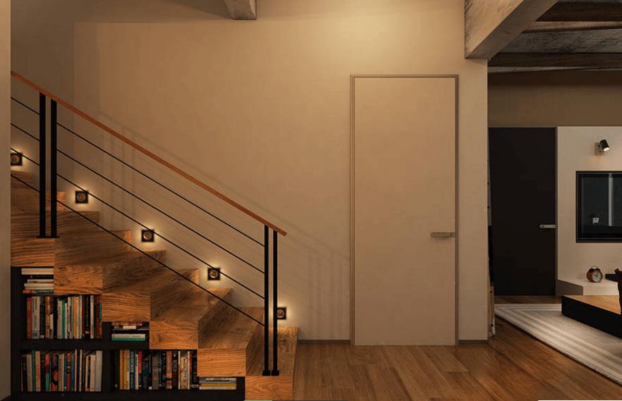 Dise o interior aprovechar el espacio bajo las escaleras for Gradas interiores