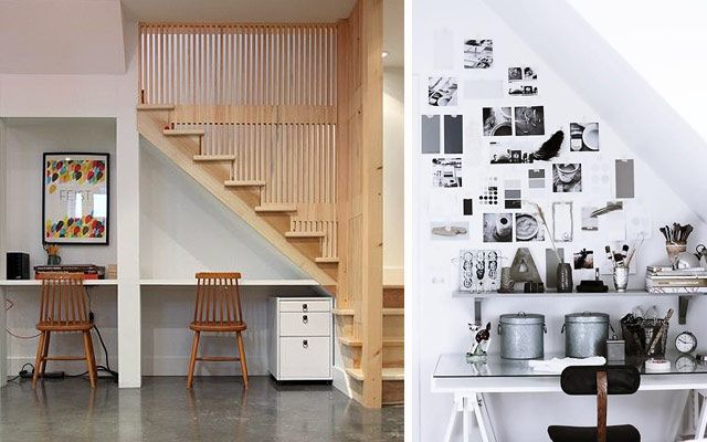 Dise o interior aprovechar el espacio bajo las escaleras for Como utilizar el espacio debajo de las escaleras