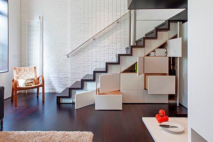 Diseño interior: Aprovechar el espacio bajo las escaleras ...