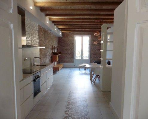 Reforma integral de piso por LF24 Interiorista Barcelona