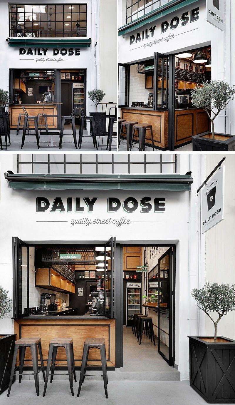 Cafeter a chic de dise o industrial en grecia lf24 for Diseno de cafeterias pequenas