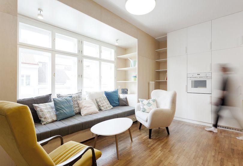 Arquitectura e interiorismo: Ideas para un salón comedor pequeño