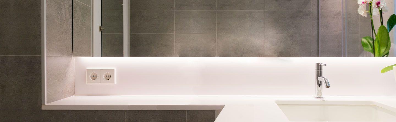 Interior design for bathrooms